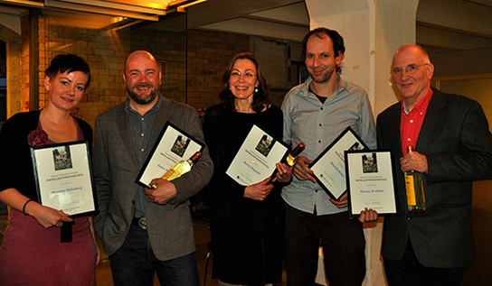 Kavalla-stipendiater 2012
