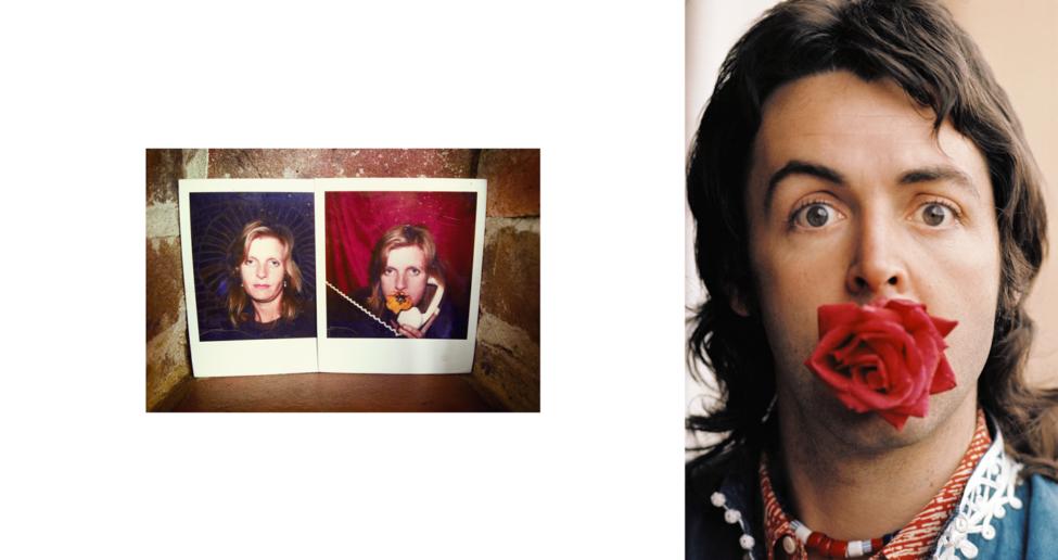 Linda McCartney & Mary McCartney