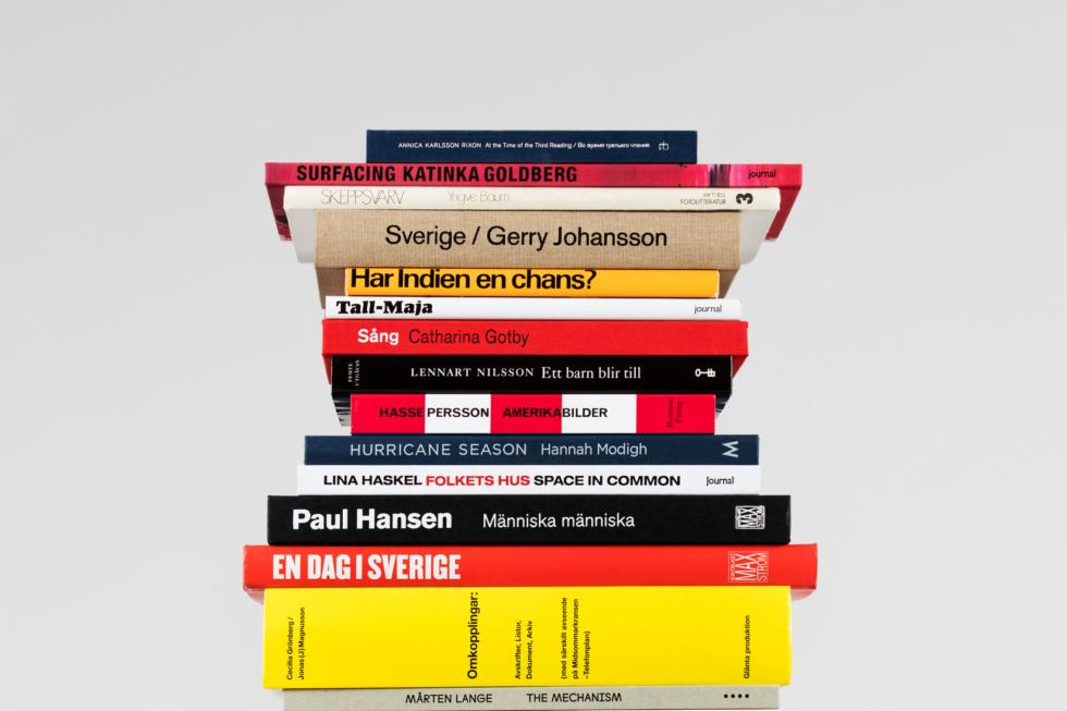 Svenska fotoböcker visas på Svenska institutet i Paris