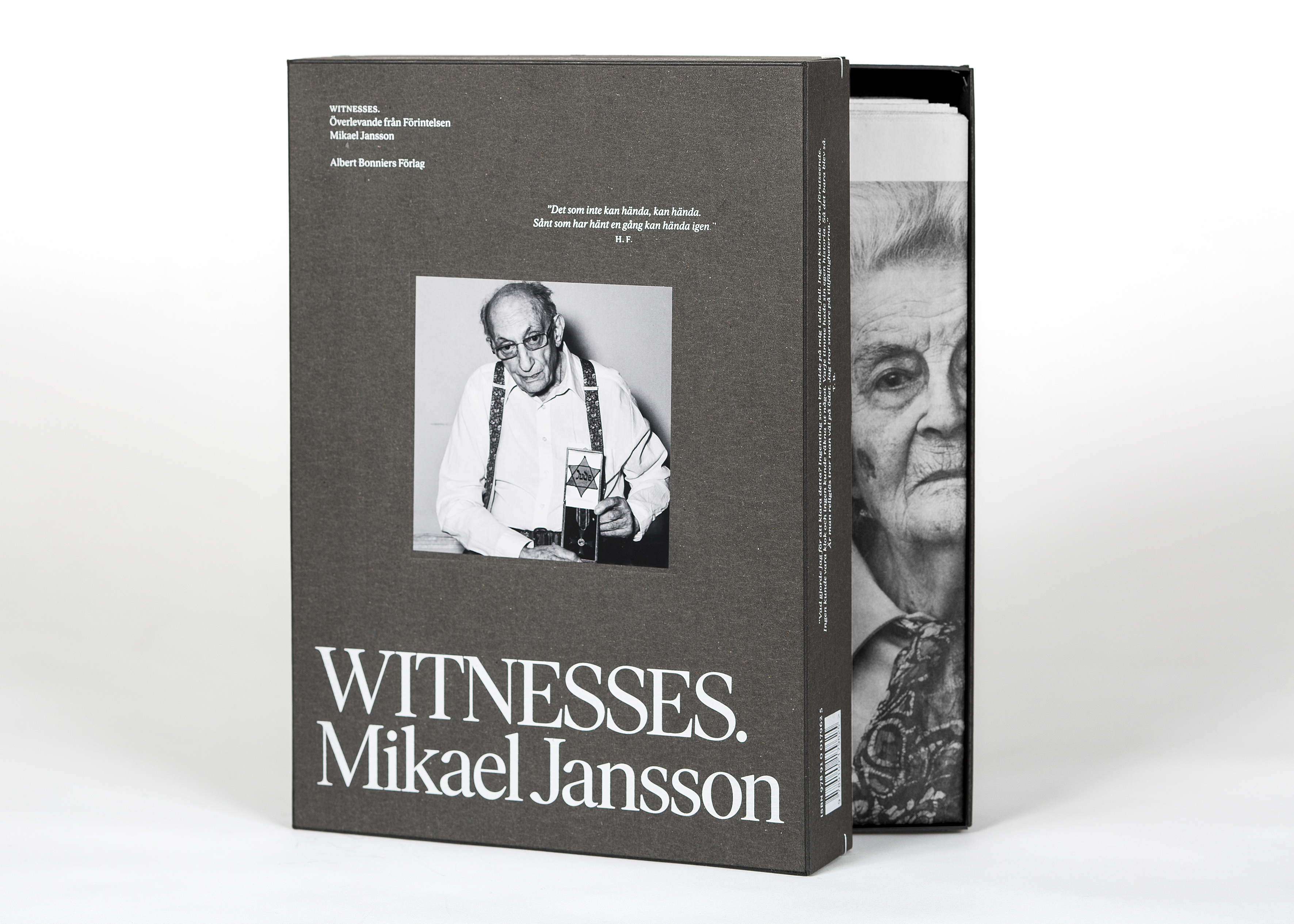 28a1ba0bdc5 Mikael Jansson – Witnesses. Överlevande från Förintelsen