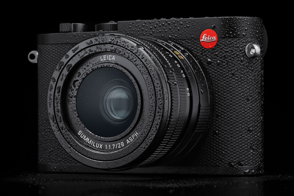 Leica Q2 är vädertätad