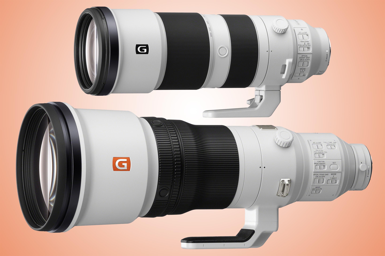 Sony lanserar 200-600-zoom och fast 600