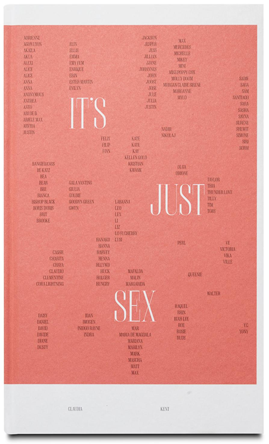 """Claudia Kent: """"Its just sex"""""""