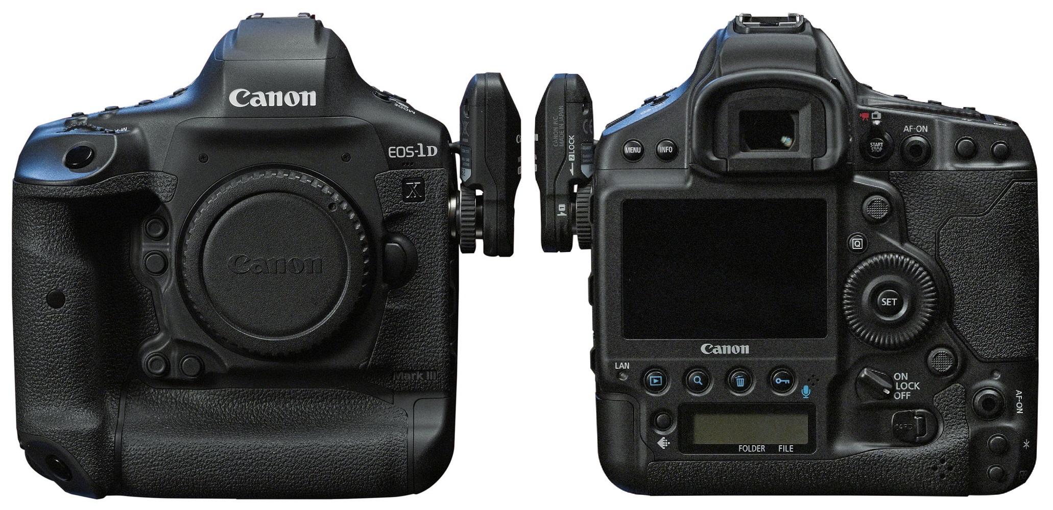 Två nya proffskameror från Canon