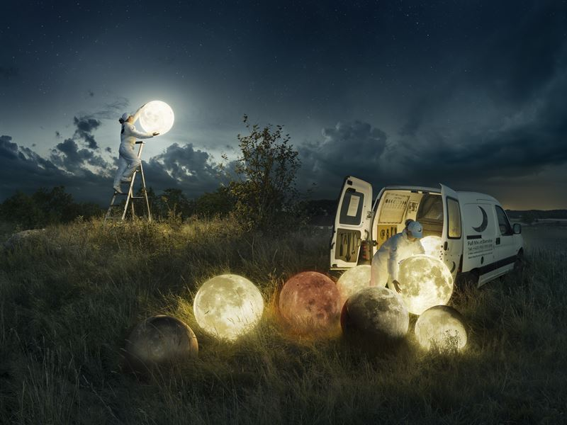 Erik Johansson - Places Beyond