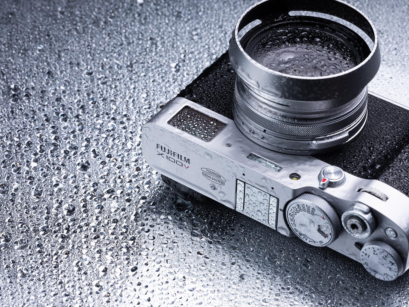 Fujifilm X100V – skarpare och vädertätad