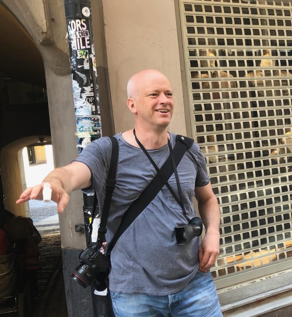 Melker Dahlstrand, fotograf. Foto: Maria Marteleur