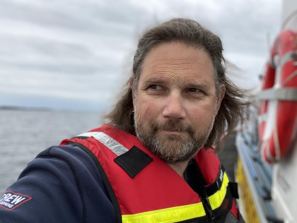 Patrick Trädgård, fotograf. Foto: Privat