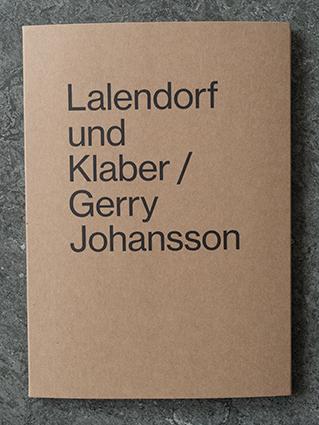 """Gerry Johansson: """" Lalendorf und Klaber"""""""