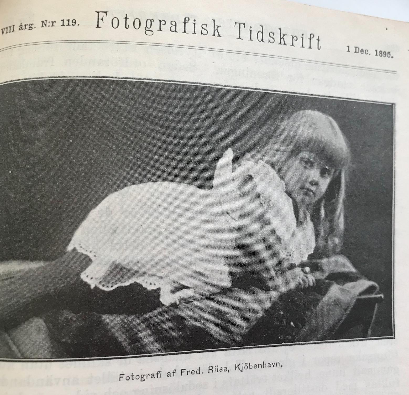 Ur arkivet: Att fotografera barn 1895
