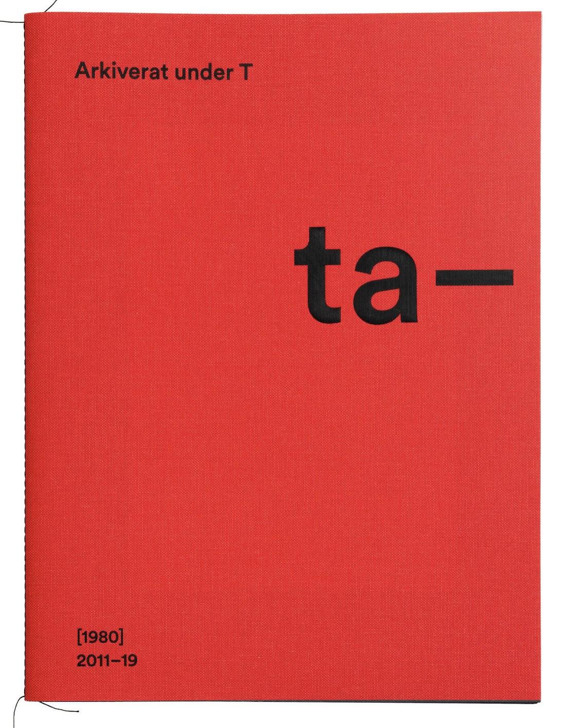 """Anna Strand: """" Arkiverat under T"""""""