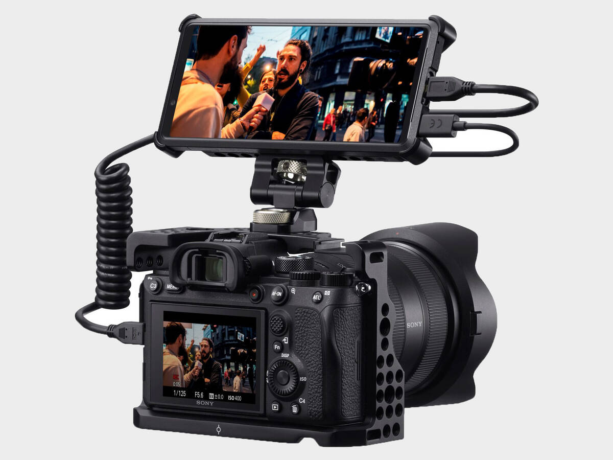 Sony Xperia Pro fungerar som monitor, recorder och 5G-sändare